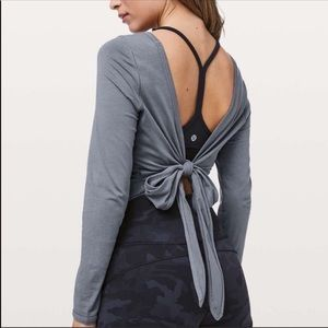 Lululemon wrap top